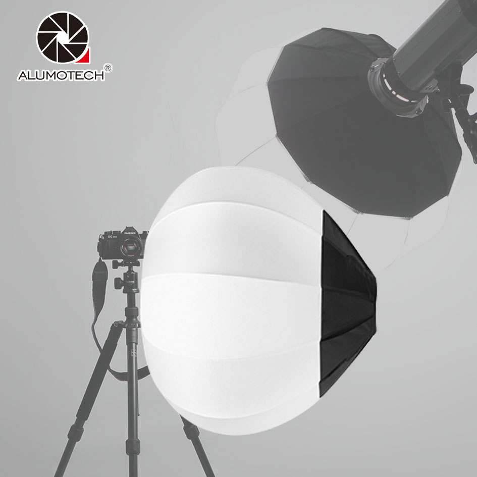 45/65/80cm Ball Globe Softbox Bowens Mount Collapsible Lantern Diffuser For Camera Video Studio Flash Strobe Photography