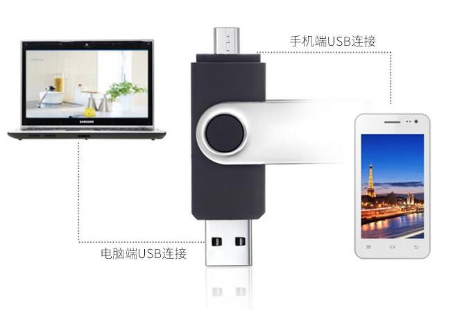 fashion Capacidade total OTG usb flash drive գրիչ drive 64 GB 32 - Արտաքին պահեստավորման սարքեր - Լուսանկար 2