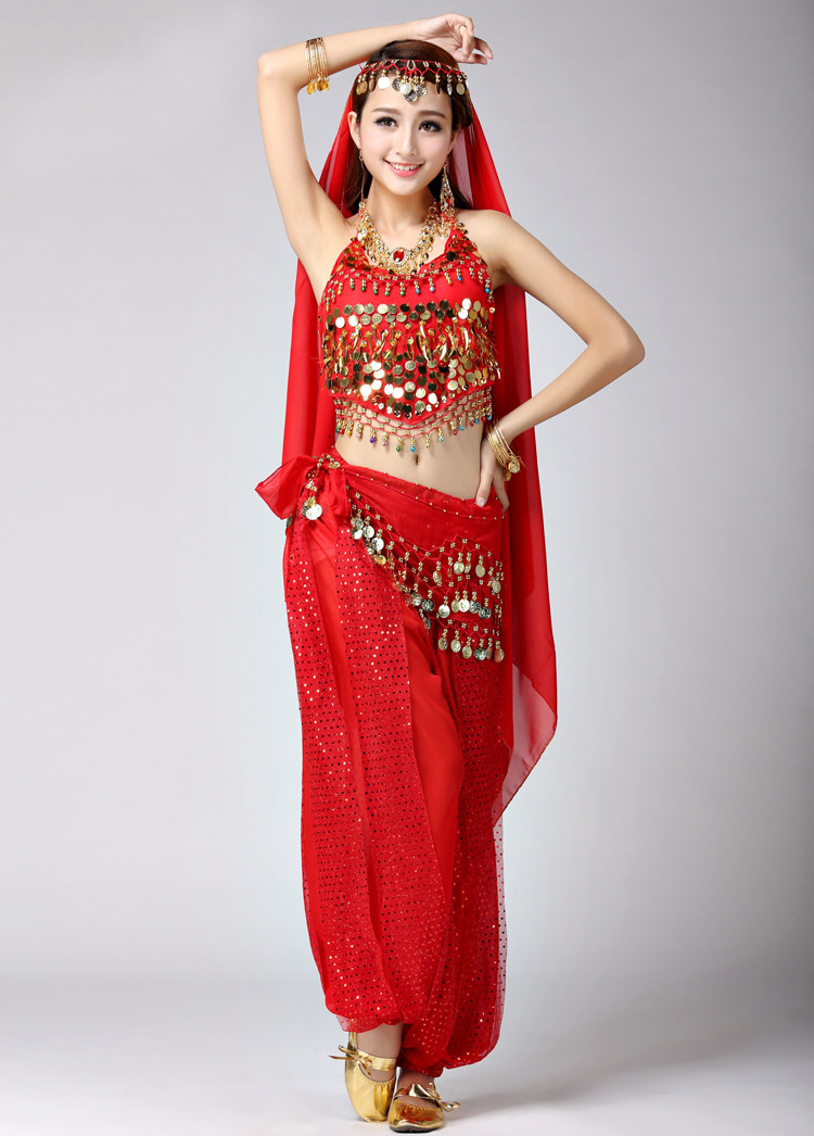 441adcc13 Women's belly dance India dance clothing,dance exercise practice ...
