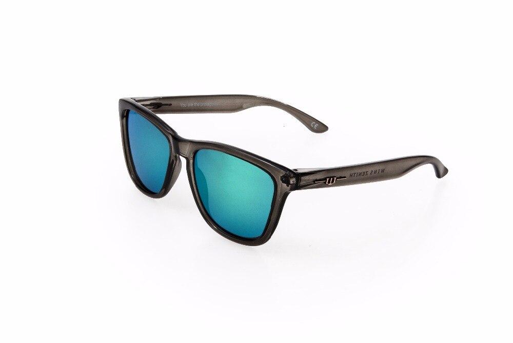 Winszenith Модные Солнцезащитные Очки Унисекс UV400 Зеленый Линзы Защищают Глаза Женщины Очки Поляризованные Блоки УФ Солнцезащитные Очки