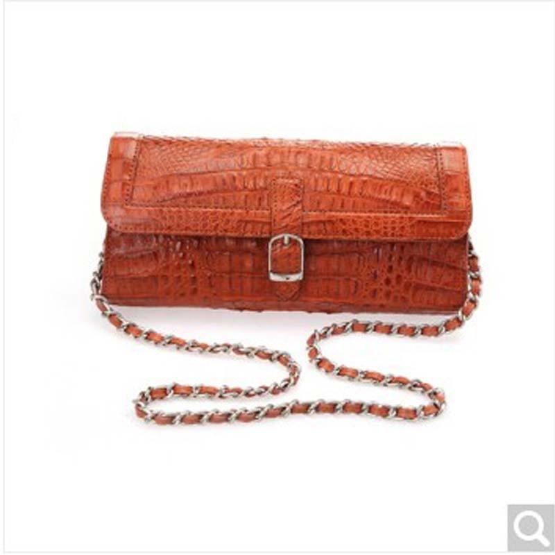 цены River Thai origin alligator skin lady women handbag satchel crocodile back skin head skin full Pike door crocodile skin