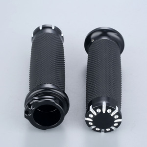 Image 2 - Резиновые рукоятки для мотоцикла, 25 мм, 7/8 дюйма, алюминиевые рукоятки для Honda, Yamaha, Suzuki, Kawasaki