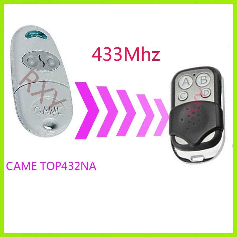 Hohe qualität duplizierer TOP-432NA KAM 433,92 mhz fernbedienungen KAM TOP432NA fernbedienungen garagentor fernbedienung mit batterie