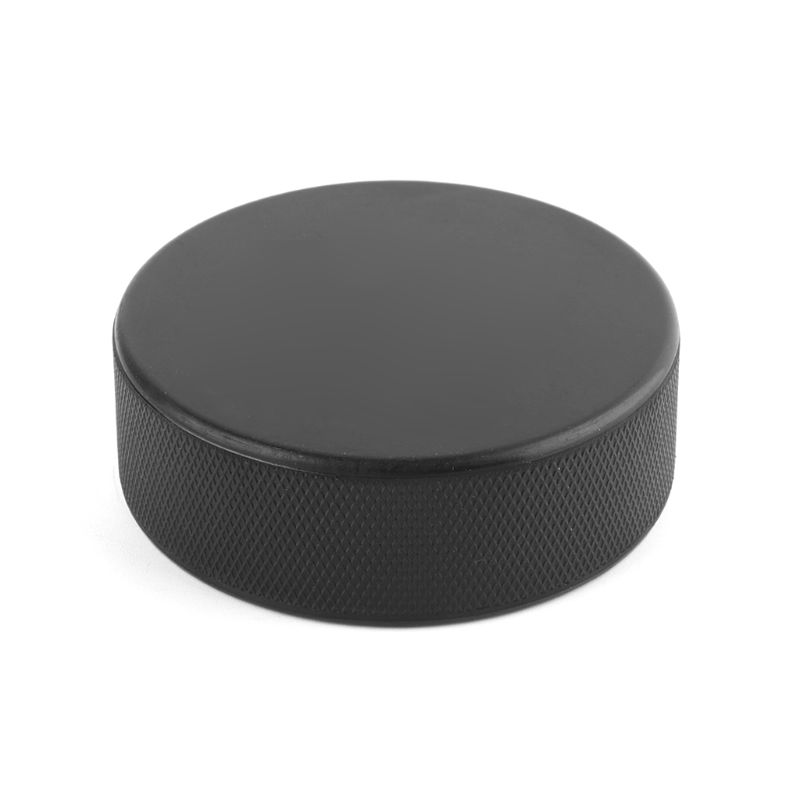 Professional Sports Classic Black Ice Hockey Competition Training Rubber Puck