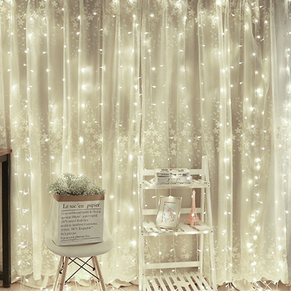 LED Fairy Icicle String Light LED Christmas Lights Wedding For ...