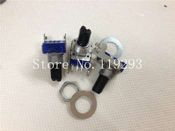 [BELLA]A & H mixer 4 feet potentiometer Japan ALPS  204C C200K 15MM semi axis potentiometer--10PCS/LOT