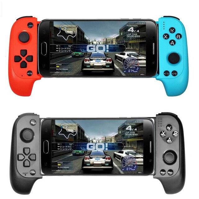 Controlador telescópico sem fio telescópico sem fio bluetooth do jogo móvel do jogo de bluetooth do controlador do jogo móvel para o telefone android