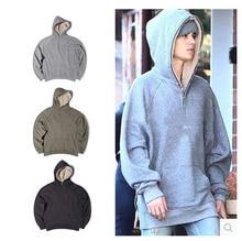2016 hombres de la moda hooides warm high street hip hop streetwear clothing sudaderas desgaste pura lana de invierno del diseñador