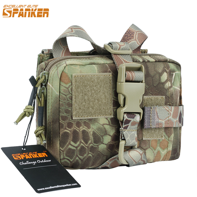EXCELLENT ELITE SPANKER Outdoor Hunting Bag Tactical Activity First Aid Bags Medical Military EDC Hunting Pouch excellent elite spanker waterproof military tactical backpack hunting accessories sport bag molle tactical pouch hunting bag