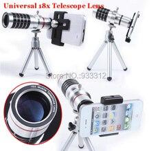 18x Optical Zoom Telescope:800M SLR Telephoto Phone Lens+Camera Tripod For Samsung J5 S6 A5 S3 Grand Prime S7 Edge/For LG G5 G4