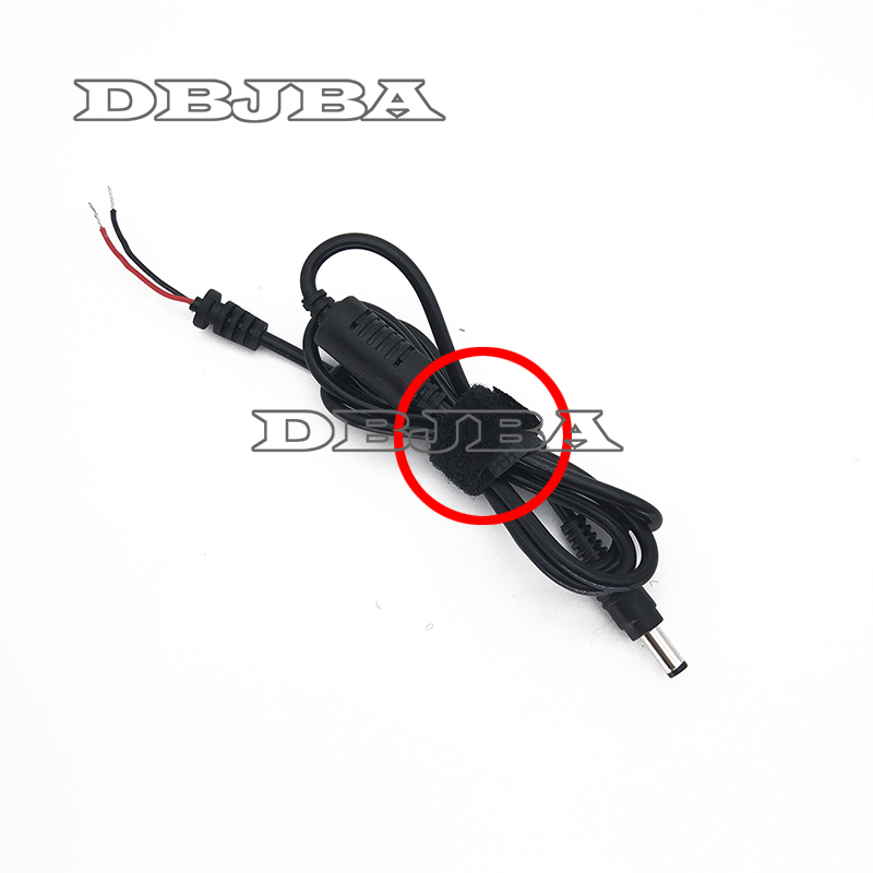 2PCS DC 5.5 x 2.5 5.5*2.5mm Power Supply Plug Connector With Cord / Cable For Toshiba Asus Lenovo Laptop Adapter