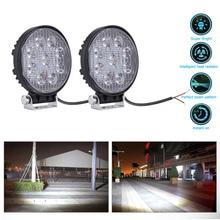 4 дюймов 27 Вт светодиодный работы прожектор 12 В 24 В круглый светодиодный Offroad свет лампы Worklight для Off road Мотоцикл автомобиля Truck Hot