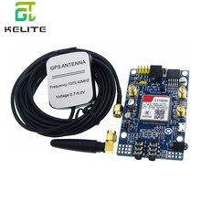 Placa de desarrollo GPS SIM808, módulo GSM GPRS, IPX SMA con antena GPS para Raspberry Pi, compatible con tarjeta SIM 2G 3G 4G