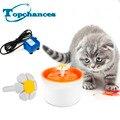 Alta qualidade novo automático cão gato gatinho fountatin pet tigela prato bebida de água potável filtro de orange
