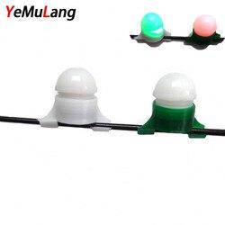 YeMuLang 1 stücke Mini Angeln Biss Alarm Biss Keine Batterie Nacht Angelrute Tipp Clip auf Fisch Streik Beißen Alarm alarm Licht Pesca