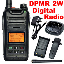 DPMR Professional Digital Radio RS209D 2W/1W Power Walkie Talkie 256 Channels LCD Display UHF 400-470MHz Accessories