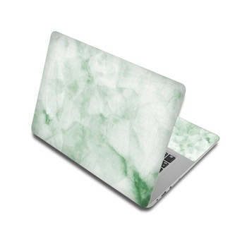 Green And White Marble Laptop Skin Sticker For Laptop And Macbook 1