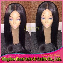 New Arrival Peruvian Virgin Human Hair Glueless Full Lace Wig With Baby Hair For Black Women