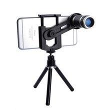 KRY Телескоп Мобильного Телефона Универсальный 8-КРАТНЫМ Зумом Камеры Телескопа Телеобъектив для iPhone 7 объектив iPhone 5s 5 6 6 s 7 Плюс объектив