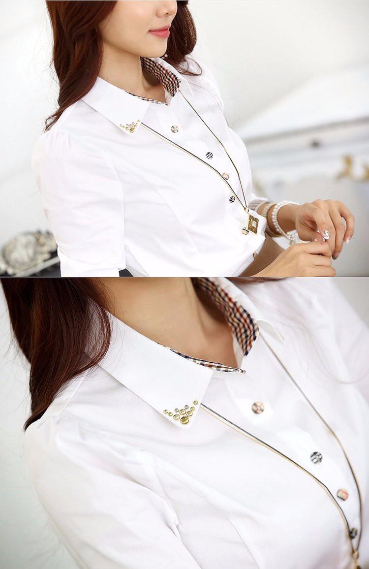 HTB1eekFLXXXXXb0XpXXq6xXFXXXX - Casual Blouse Long Sleeve Femininas Ladies Work Wear Tops Shirt
