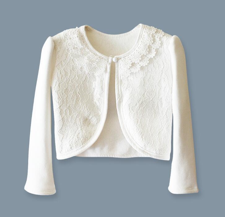 8a6236da750c Aliexpress.com   Buy Baby girls lace flower long short sleeve ...