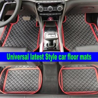 Custom fit car floor mats for Peugeot 207 2008 301 307 308sw 3008 408 4008 508 rcz car styling carpet floor liner