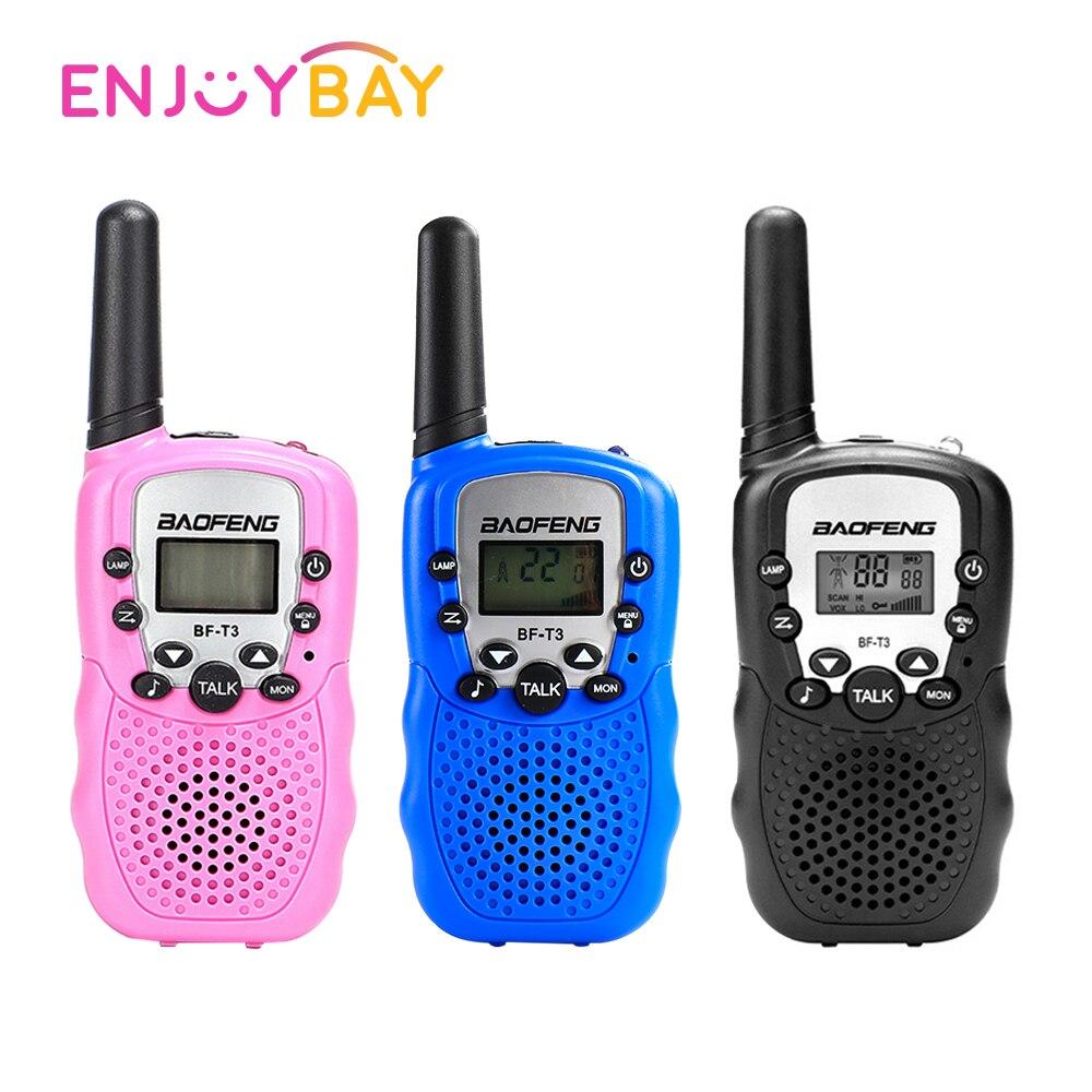 2Pcs Two Way Radio Kids Walkie Talkie Toy Outdoor 1-3km Children's Self Driving Walkie Talkie Gadget Hunting Radio Clearance
