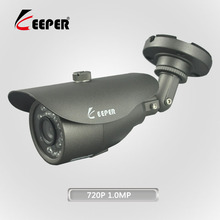 Keeper 720P 1.0MP AHD Full HD Outdoor Waterproof Bullet CCTV Camera Security Surveillance Camera CMOS Camera With 24PCS IR LED