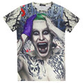 Hombres Comando Suicida Camiseta Joker Haley Quinn Superior