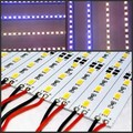 5/10/20/40pcs 0.25m Hard rigid led Bar light 12V 25cm 18 led SMD 5630/5730 Aluminum alloy Led Strip Rigid light home Decoration