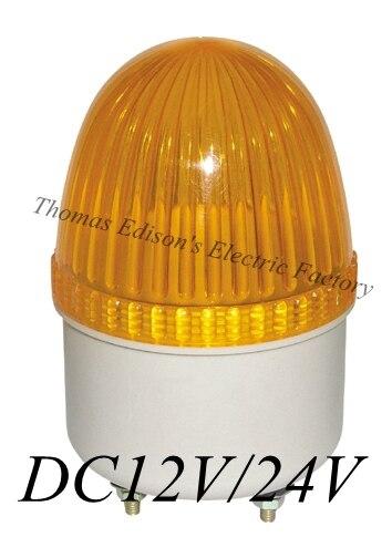 Dmwd DC 12 В/DC24V lte-2071 Мини дорожный знак строб вспышки света лампы аварийного сирена сигнальная лампа световой индикатор