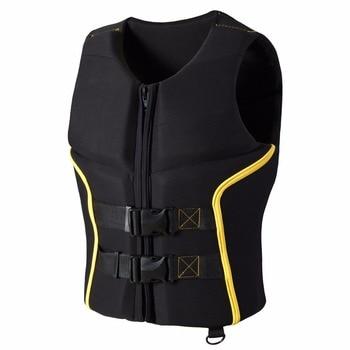 Outdoor Buoyancy Life Jacket Premium Neoprene Vest Water Ski Wakeboard 6 Sizes