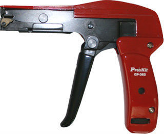 Free Shipping ProsKit CP-382 Cable Tie Gun Plier Cutting and Tighting (160mm) bunching machine Hand Tool Beam Gun