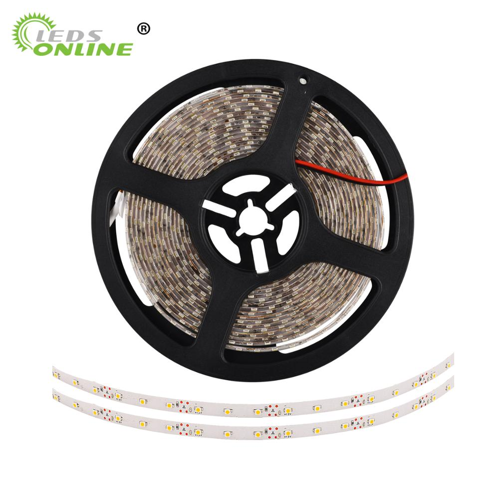 Tira LED SMD3528 300leds 5M DC12V led Tira flexible gabinete Luces de luz no impermeable novedad hogares decoración de pascua