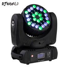 LED 빔 36x3W 이동 헤드 라이트 RGB LED 워시 라이트 9/16 채널 선형 디밍 DMX512 무대 조명 전문 무대 및 DJ