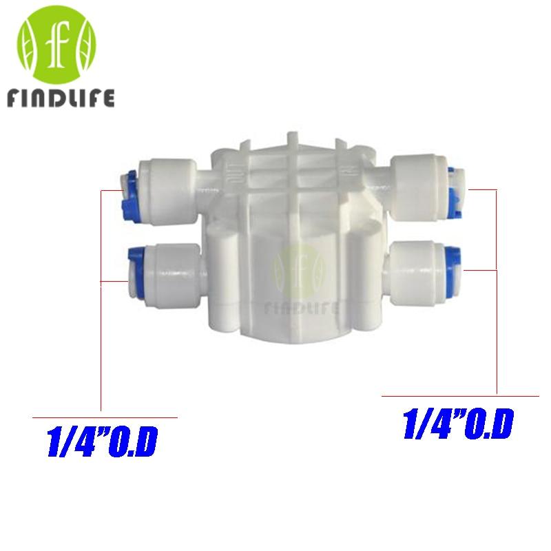 buy water filter parts 1 4 od tube auto shut off 4 way valve pressure. Black Bedroom Furniture Sets. Home Design Ideas