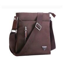 Мода Bussiness Мужские сумки через плечо многофункциональный Водонепроницаемый Оксфорд Сумки на плечо Для мужчин сумка