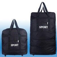 2019 Ryanair Foldable Hand Luggage Wheeled Travel Cabin Fold up Bag Travel Carry Bag Flight Folding Hard Case Airline bag