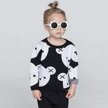 Automne hiver bébé chandail mignon infantile bébé de Bande Dessinée ours chandail garçons filles chandail tricoté bébé filles survêtement chandail 12 M-4 T