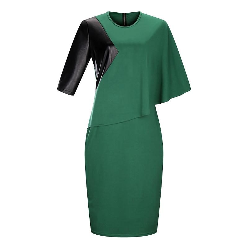 2018 New Designer Women Dress Plus rozmiar 6XL Jesień Vestidos Maxi - Ubrania Damskie - Zdjęcie 6