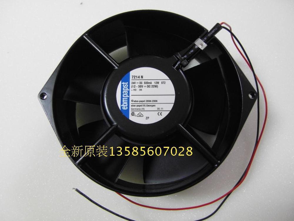 ФОТО PAPST ebmpapst Blowers 7214N 15055 24V 12W cooling fan