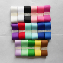 [25yards/lot, 7/8(22mm)] grosgrain solid color Ribbon mixed for craft material, wedding Christmas decoration