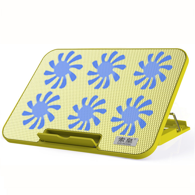 Notebook Cooler Laptop Cooling Pad LED 12-17 inch 6 Cooling Fans Laptop Stand with Cooling Mute Cooling for Laptop Processor 520w cooling capacity fridge compressor r134a suitable for supermaket cooling equipment