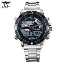 AMST Watches Men Multi-function Sports Military Watch Quartz Analog Digital Watch Relogio Male Clock Montre Reloj Hombre