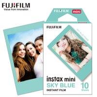 Новая 10 листов Fujifilm Fuji Instax Mini 8 пленка небесно-голубая мгновенная камера для 8 7 s 7 50 s 50i 90 25 dw Share SP-1 камера фотобумага