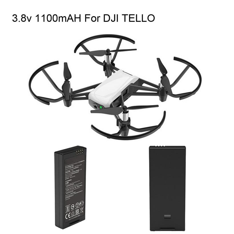 OMESHIN pour Drone DJI Tello batterie de vol intelligente 1100 mAh 3.8 V 180315 livraison directe