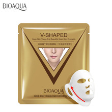 BIOAQUA Firming Lift Face Mask facial Chin V Shaped Collagen face whitening Anti Aging Reduce Fine Lines beauty mask