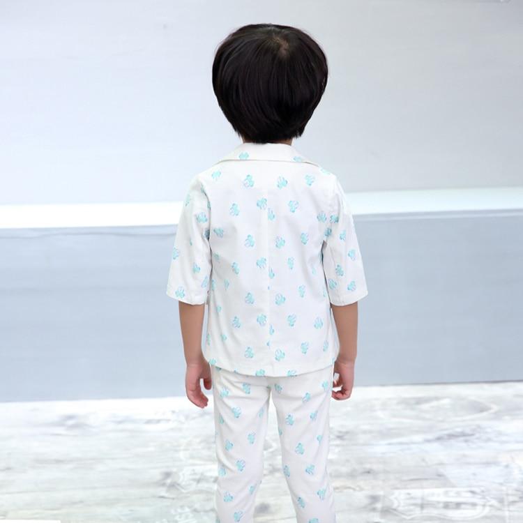 ActhInK Yeni Bebek Erkek Yaz Resmi Karikatür Giyim Seti Çocuklar - Çocuk Giyim - Fotoğraf 4