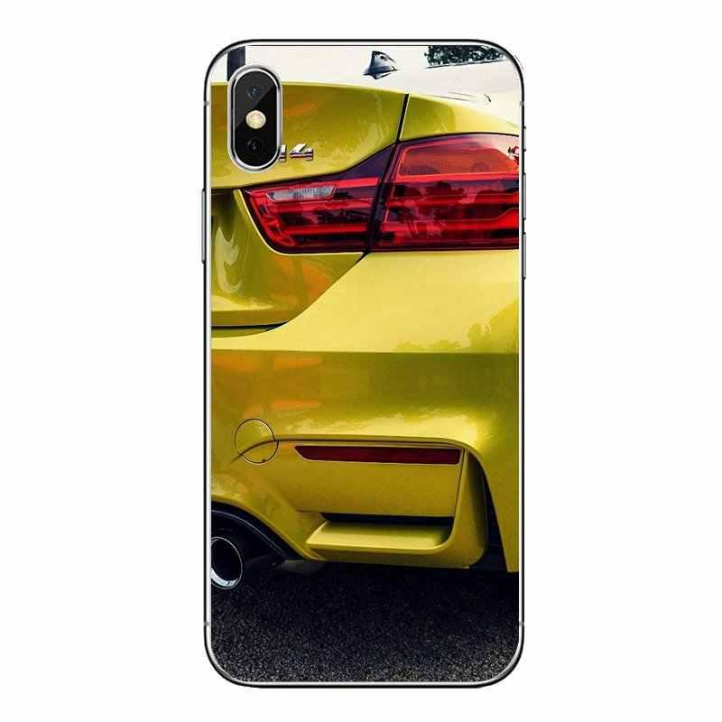 Для Xiaomi Redmi 4x S2 3 S Note 3, 4, 5, 6, 6A Por Pocophone F1 mi 6 супер автомобиля BMW M серии X6 X5 M4 M3 M5 Мощность M логотип силиконовый чехол для телефона
