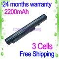 Jigu [Precio especial] nueva 3 celdas de batería portátil para acer um08a52 um08a74 um08b31 um08b52 um08b72 aspire one 10.1 aspire one a150